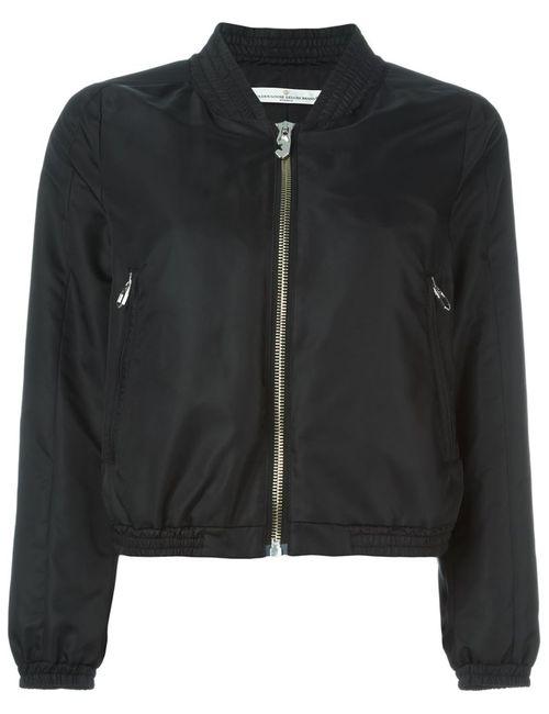 Golden Goose | Женская Чёрная Классическая Куртка-Бомбер
