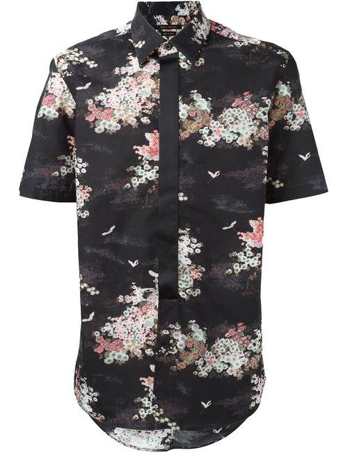 Marc Jacobs   Мужская Чёрная Рубашка С Цветочным Принтом