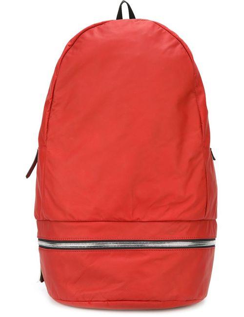 Z Zegna | Мужской Красный Рюкзак На Молнии