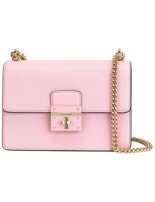 Dolce & Gabbana | Женская Розовая Сумка На Плечо Rosalia