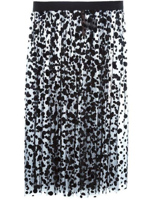 Antonio Marras | Женское Чёрный Polka Dot Tulle Skirt