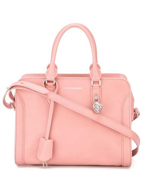 Alexander McQueen   Женская Розовая Сумка-Тоут Padlock