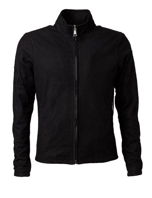 Giorgio Brato | Мужская Черный Приталенная Куртка На Молнии