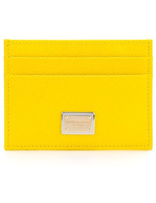 Dolce & Gabbana | Женская Жёлтая Визитница Dauphine