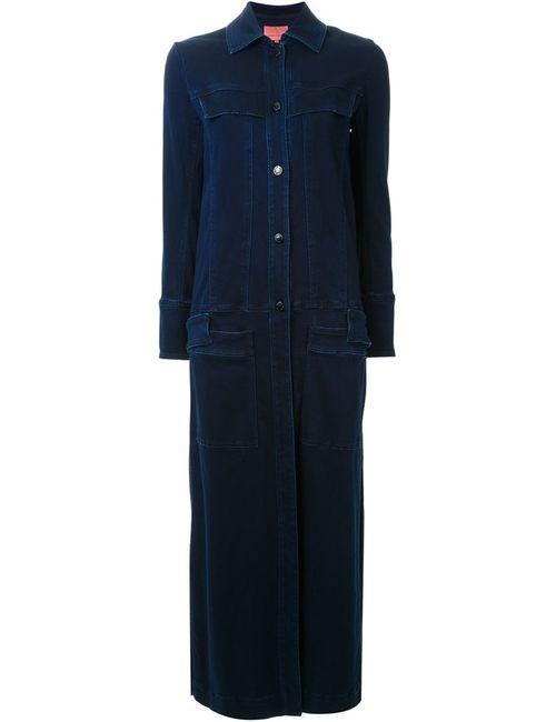 MANNING CARTELL | Женское Синее Длинное Пальто The Edition