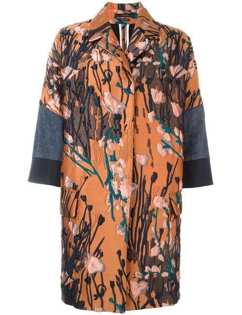 Odeeh | Женское Многоцветное Жаккардовое Пальто