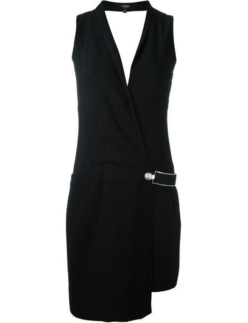 Versus   Женское Чёрное Двубортное Платье