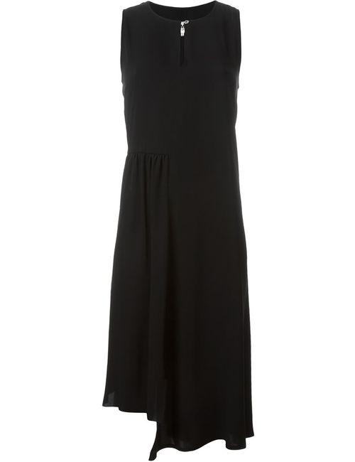 MM6 by Maison Margiela | Женское Черный Асимметричное Платье Без Рукавов