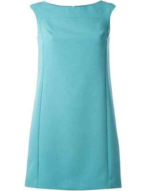 Versace Collection   Женское Синее Платье А-Образного Кроя