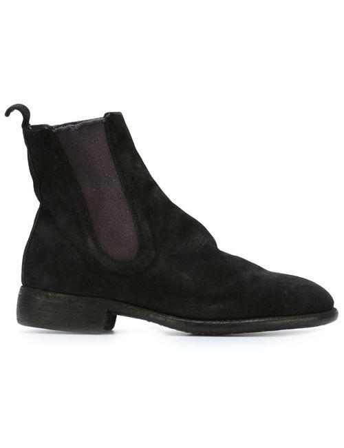 GUIDI | Женские Чёрные Ботинки Челси