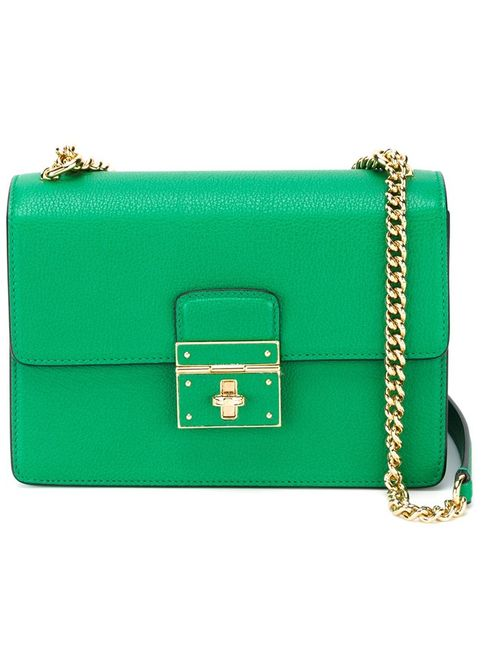 Dolce & Gabbana | Женская Зелёная Сумка На Плечо Rosalia
