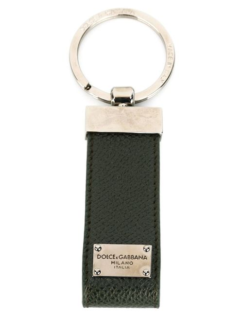 Dolce & Gabbana | Зелёный Брелок Для Ключей