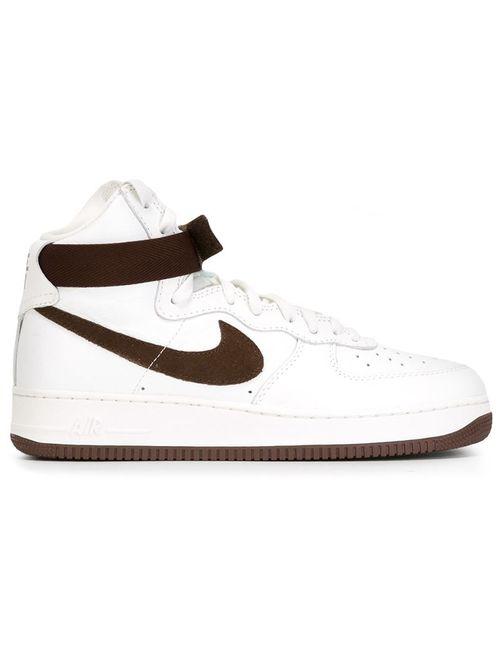 Nike   Мужские Белые Кроссовки Air Force 1