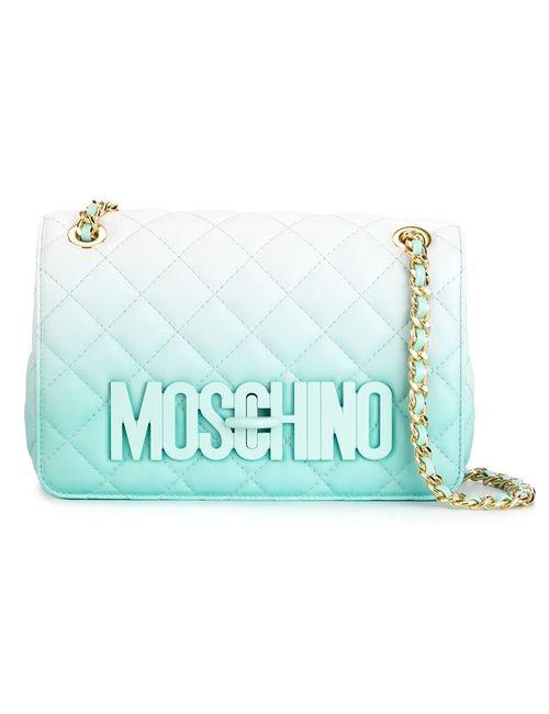 Moschino | Женское Синий Quilted Crossbody Bag