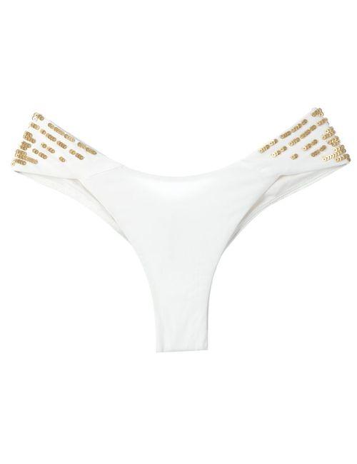 La Perla | Женское Белый Sequinned Bikini Brief