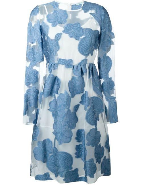 P.A.R.O.S.H. | Женское Синее Платье Paramore