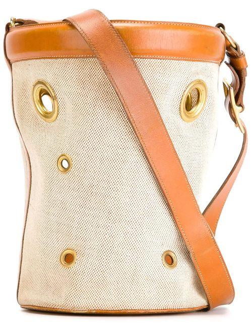 Hermès Vintage | Женская Nude & Neutrals Сумка-Мешок Mangeoire
