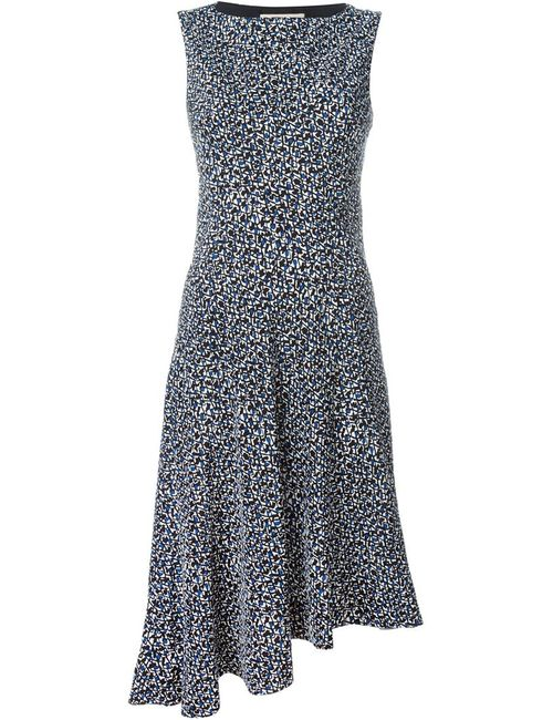Marni | Женское Черный Printed Asymmetric Dress