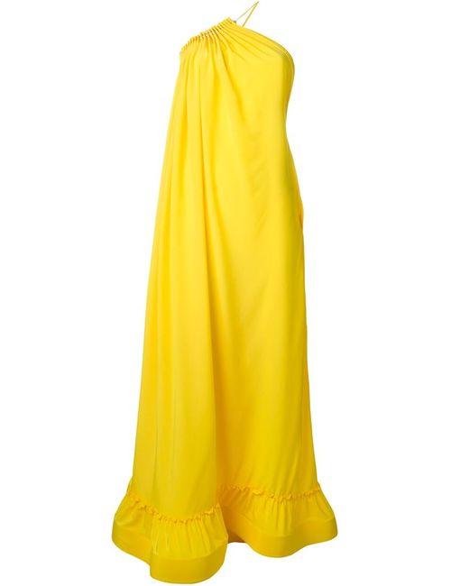 Stella Mccartney | Женское Жёлтое Платье На Одно Плечо Cassie