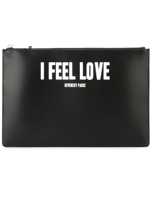 Givenchy | Женский Чёрный Клатч I Feel Love