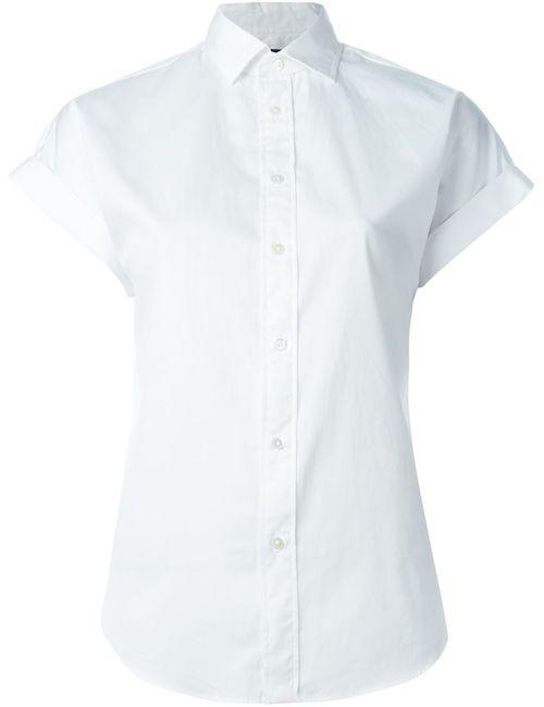 Polo Ralph Lauren   Женская Белая Футболка С Короткими Рукавами