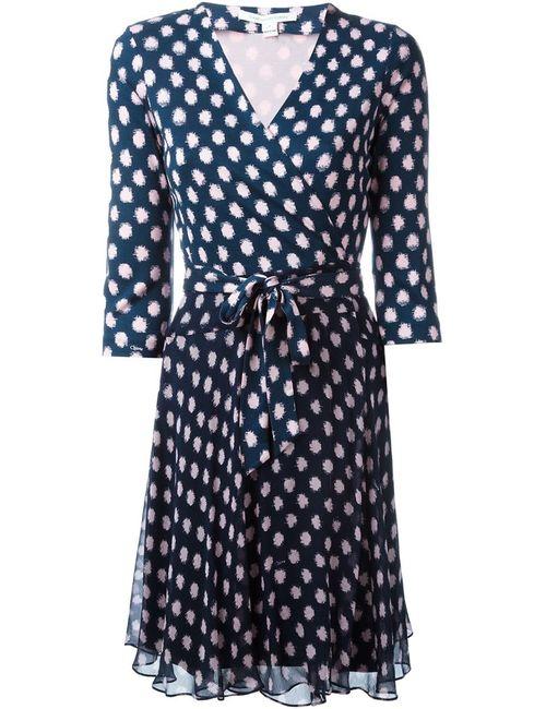 Diane Von Furstenberg | Женское Синее Платье Irina