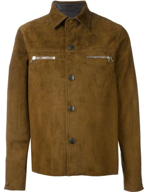 Lanvin | Мужская Коричневая Двухсторонняя Куртка