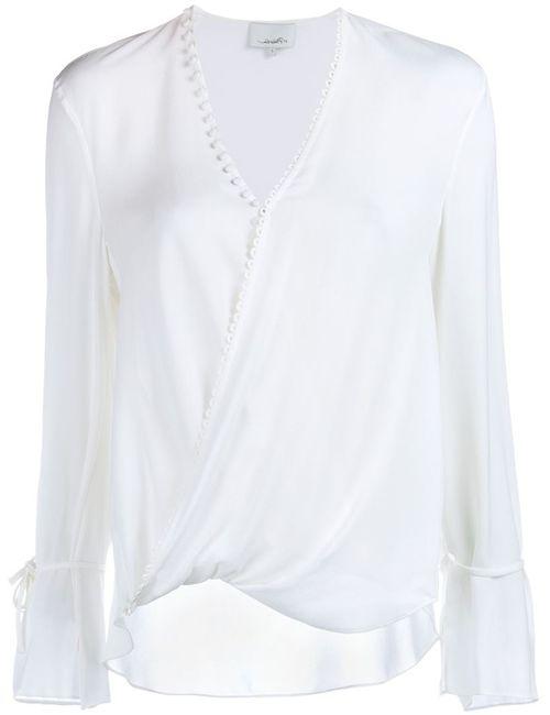 3.1 Phillip Lim | Женское Белый Silk Blouse