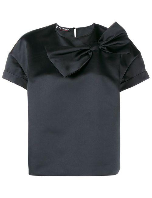Rochas | Женское Чёрный Top Ss B