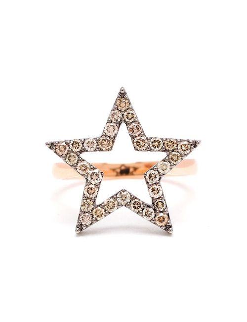 ROSA DE LA CRUZ | Женское Розовый Diamond Star Ring
