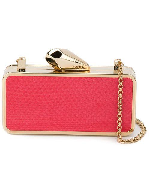 Kotur | Женское Красный Mini Box Clutch