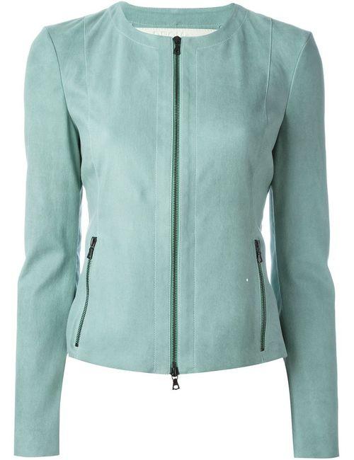 Drome | Женская Синяя Приталенная Куртка