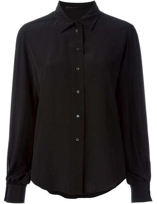 Agnona   Женская Чёрная Классическая Рубашка