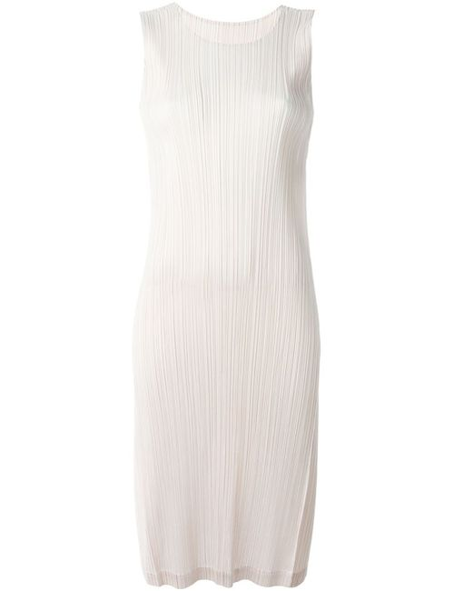 PLEATS PLEASE BY ISSEY MIYAKE | Женское Nude & Neutrals Гофрированное Платье