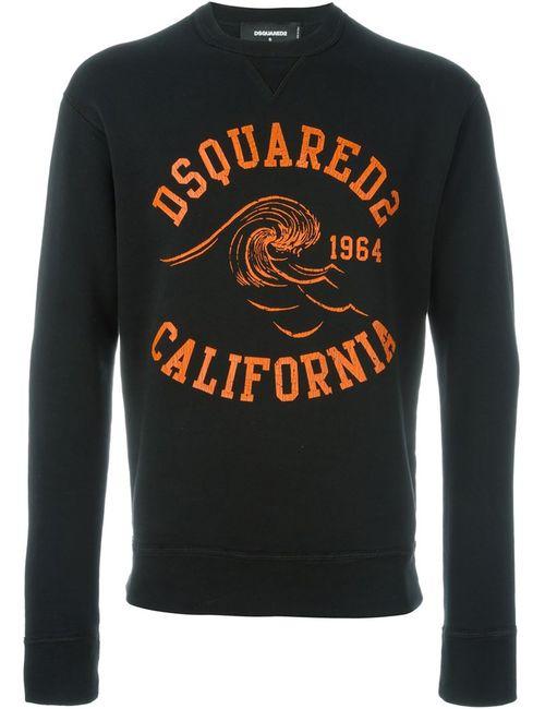 Dsquared2 | Мужская Чёрная Толстовка С Логотипом