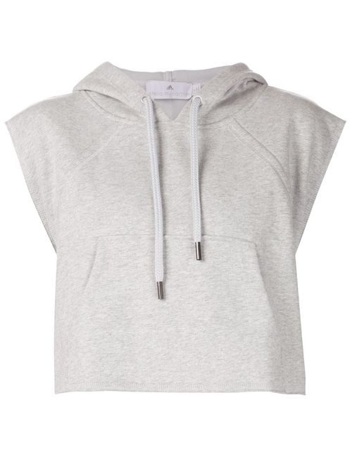 Adidas By Stella  Mccartney | Женское Серый Yo Crop Hoodie