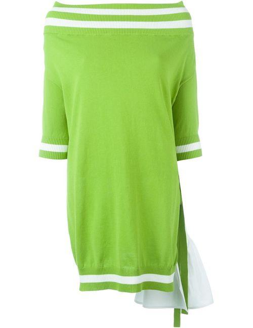 I'm Isola Marras | Женское Зелёный Off-Shoulder Oversized Sweater