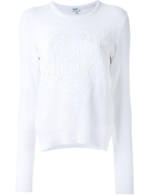 Kenzo | Женское Белый Tiger Sweater