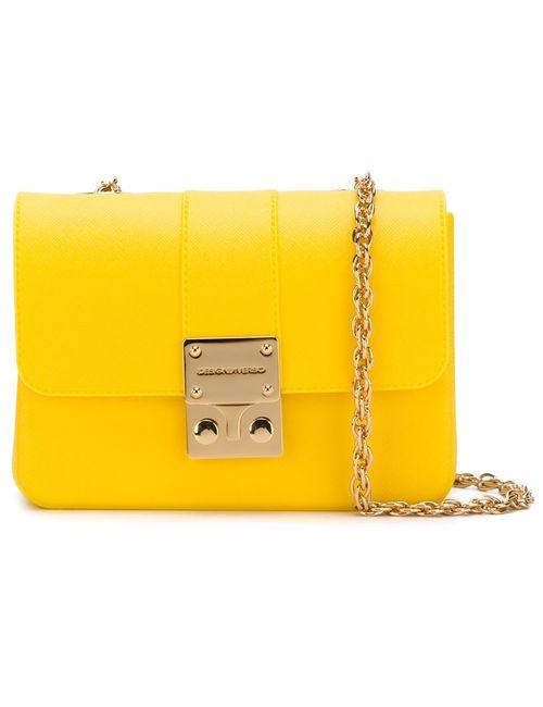 Designinverso | Женская Жёлтая Сумка Через Плечо Amalfi
