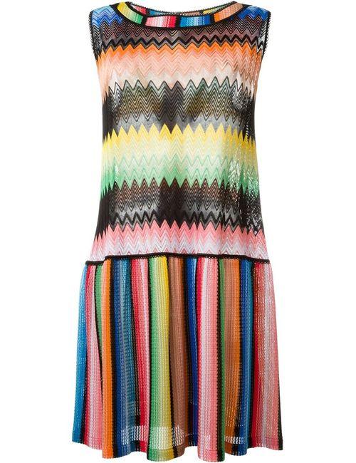 Missoni | Женское Многоцветное Платье Без Рукавов
