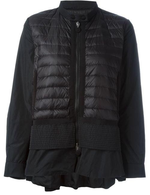 Moncler | Женское Чёрный Cyclamen Padded Jacket