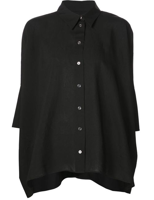 MM6 by Maison Margiela | Женское Черный Half Sleeve Loose Shirt
