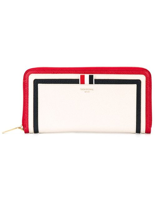 Thom Browne | Женское Белый Panelled Wallet