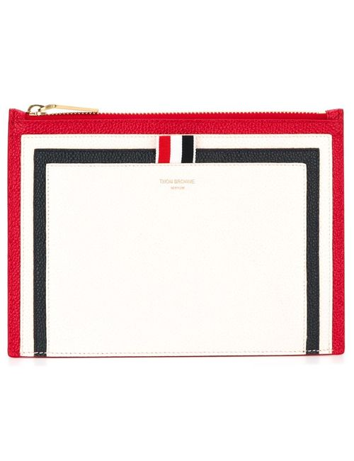 Thom Browne | Женское Белый Panelled Pouch