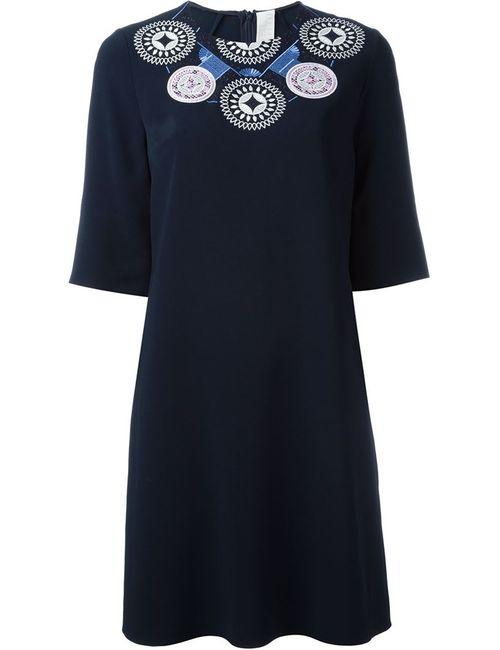 Peter Pilotto | Женское Синее Платье Athena