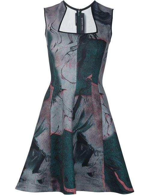 Yigal Azrouel | Женское Зелёное Платье С Принтом