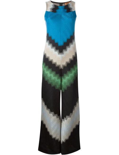 Missoni | Женский Многоцветный Комбинезон С Зигзагообразным Узором