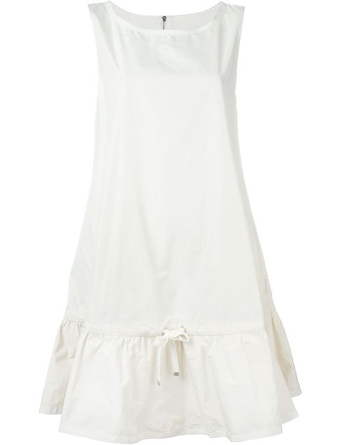 Moncler | Женское Белый Flared Sleeveless Dress