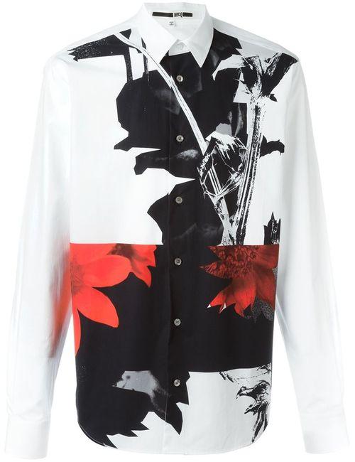 Mcq Alexander Mcqueen | Мужская Белая Рубашка Shields