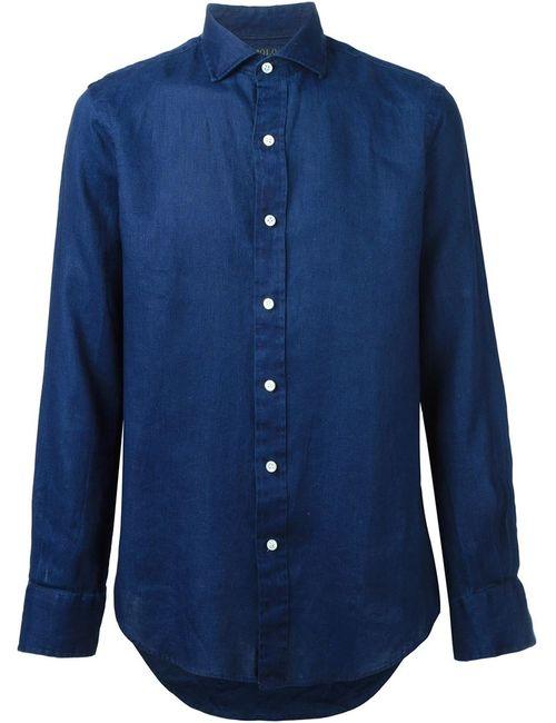 Polo Ralph Lauren | Мужская Синяя Классическая Рубашка